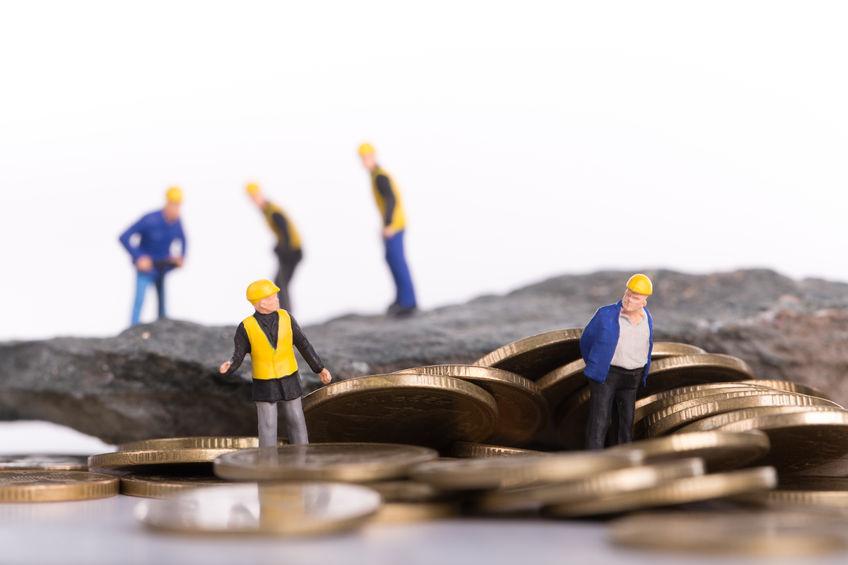 goud zoeken geld vinden